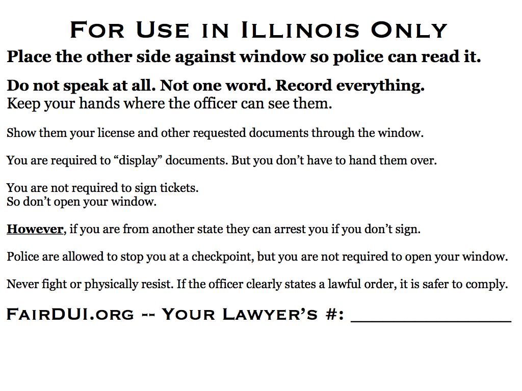 Fair DUI Flyer-Illinois.back