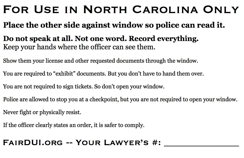 Fair DUI Flyer-NC-back