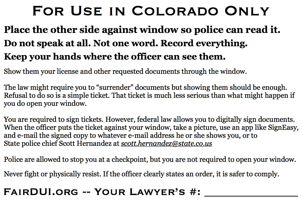 Fair DUI Flyer-Colorado-back
