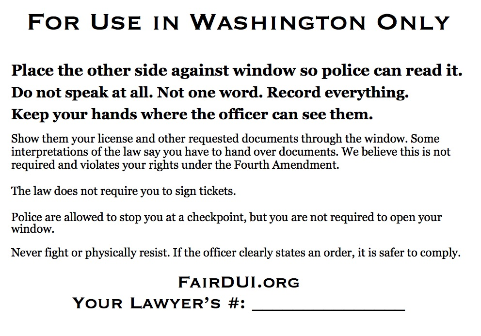 Fair DUI Flyer-Washington-back