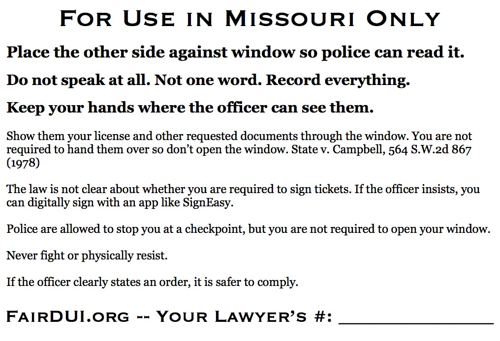 Fair DUI Flyer-Missouri-back